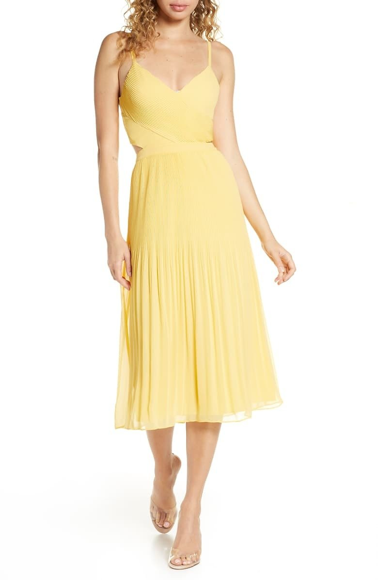 Ali & Jay For The Gram Chiffon Midi Dress | Nordstrom UP TO 40% OFF