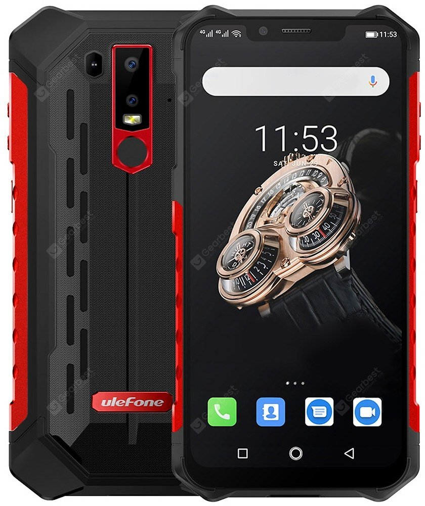Ulefone Armor 6S Red EU Version Cell Phones Sale, Price & Reviews   Gearbest