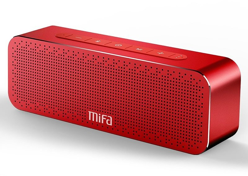 64% OFF|MIFA Portable Bluetooth Speaker Wireless Stereo Sound Boombox Speakers with Mic Support TF AUX TWS