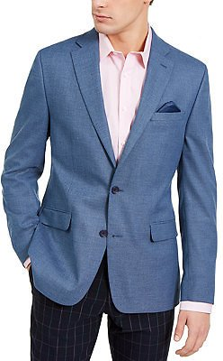 Bar III Men's Slim-Fit Blue Knit Sport Coat, Created for Macy's & Reviews - Blazers & Sport Coats - Men