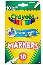 Crayola Classic Fine Line Markers