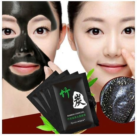 Bamboo Charcoal Blackhead Remove Face Facial Masks Deep Cleansing Purifying Peel Acne