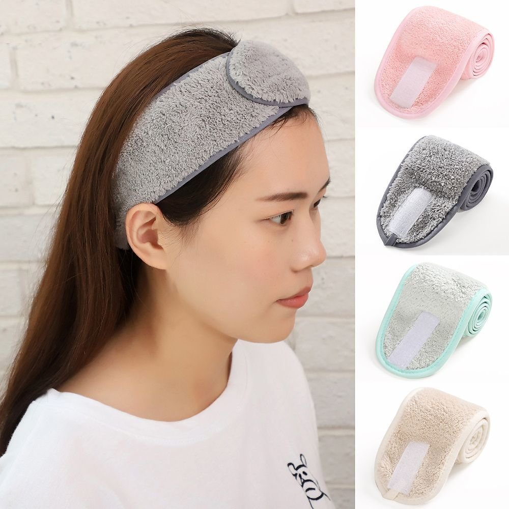 US $0.37 39% OFF|Women SPA Makeup Headband Wash Face Shower Hairband Adjustable Yoga Head Bands for Girls Soft Headwear Hair Styling Accessories|Styling Accessories| - AliExpress
