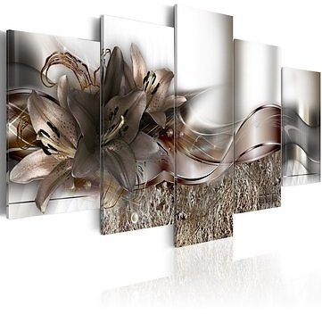5 Panels Large Abstract Flowers Print Pictures Canvas Wall Art Prints Unframed Paintings for Home DecorationsHome DecorfromHome and Gardenon Banggood.com