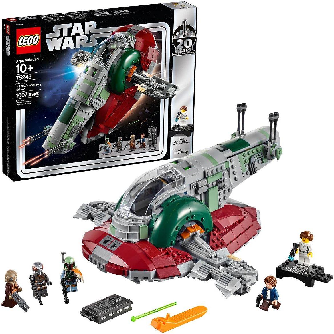 LEGO Star Wars Slave L 20th Anniversary Edition 75243 Kit
