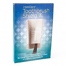 Intellident Antimicrobial Toothbrush Shields 10ea