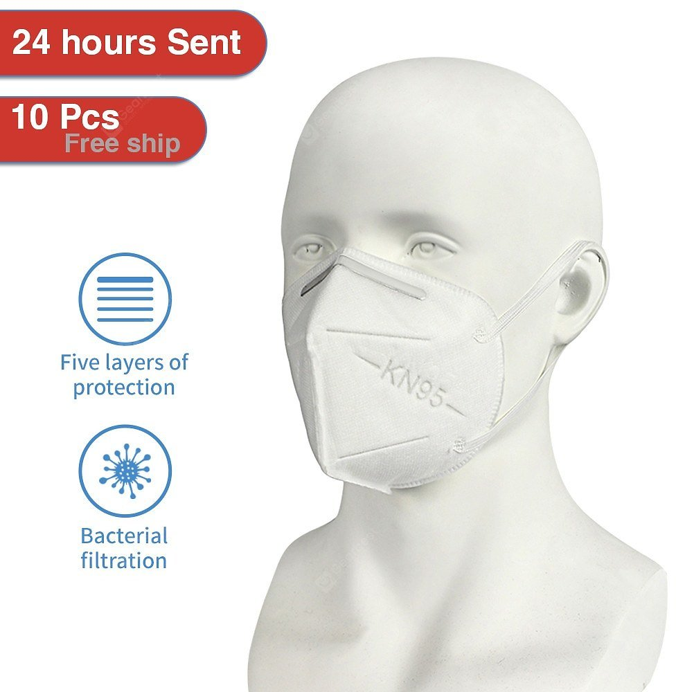 KN95 Profession Masks Anti-Dust Non-Woven Anti-Haze Protective Mask Non-Medical 20PCS Sale, Price & Reviews | Gearbest