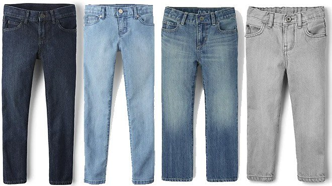 The Children's Place Boys & Girls Jeans ONLY $7.99 + FREE Shipping |*