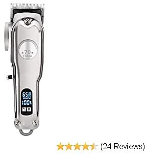 DreamCatching Professional Hair Clippers Cordless Hair Trimmer Haircut & Grooming Kit For Men Beard Trimmer Rechargeable LED Display