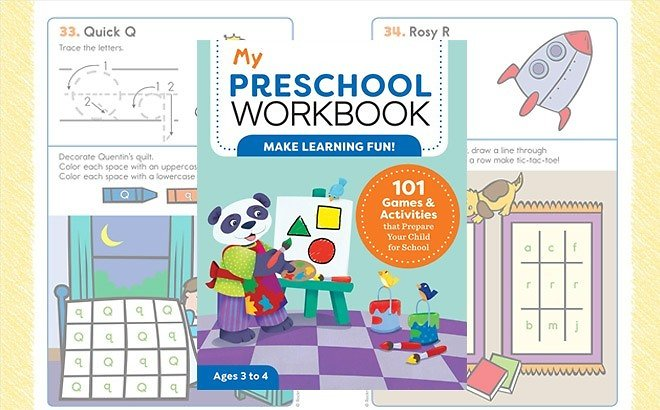 My Preschool Workbook: 101 Games & Activities for JUST $5.35 At Amazon (Reg $13)