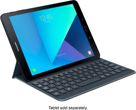 Samsung Keyboard Case for Galaxy Tab S3 Gray EJ-FT820USEGUJ