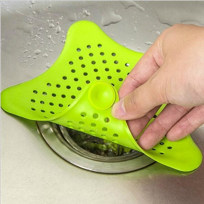 Kitchen Sink Sewer Filter Drain Hair Debris Colander Strainer Bathroom Accessories Household Supply