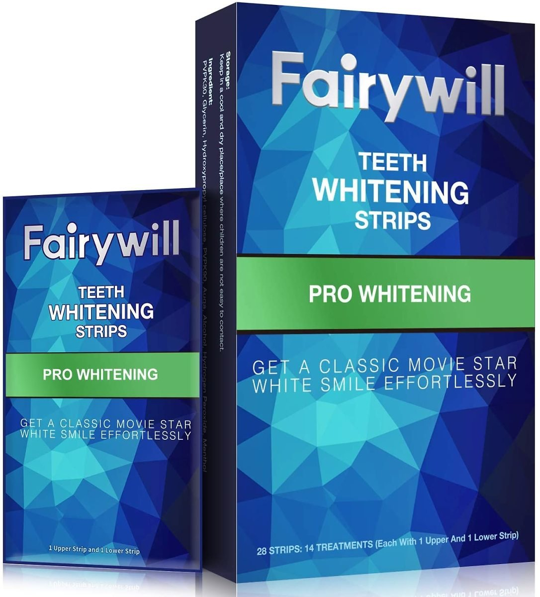 Fairywill Pro Whitening Teeth Whitening Strips 28-Pack