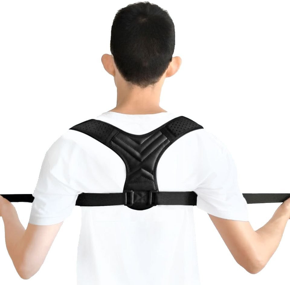 NEW Back Posture Corrector Belt Women Men Prevent Slouching Relieve Pain Posture Straps Clavicle Support Brace Drop Shipping