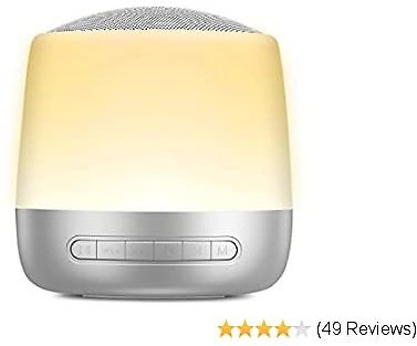 White Noise Machine with Smart Touch Night Light