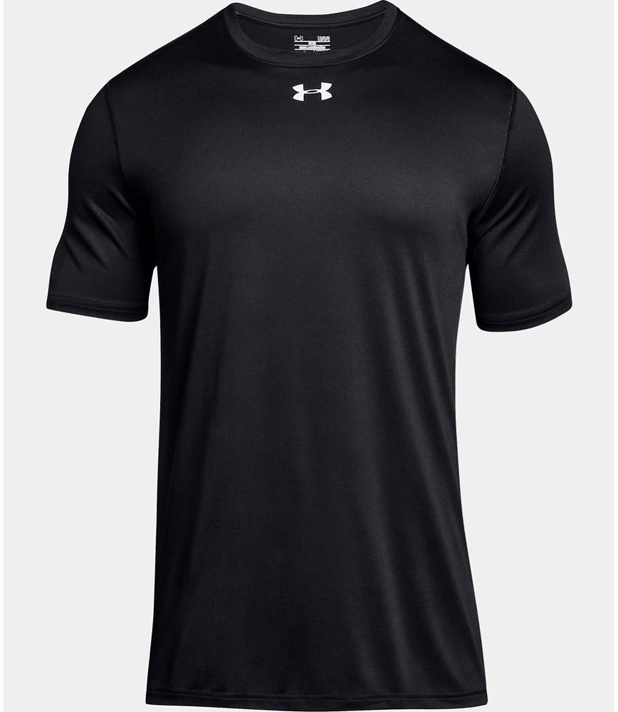 Under Armour Men's UA 2.0 Short Sleeve Locker Tee 1305775-001 Black