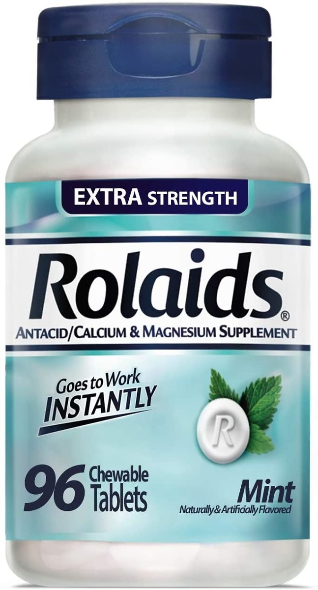 96-Count Rolaids Extra Strength Tablets