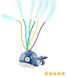CUJMH Water Spray Sprinkler for Kids and Toddlers