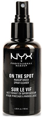 NYX Professional Makeup On The Spot Makeup Brush Spray Cleaner & Reviews - Makeup - Beauty