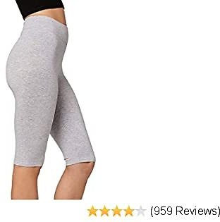 Premium Soft Cotton Leggings - Wide Waistband - Reg/Plus Sizes - Shorts, Capri and Full Length Leggings for Women