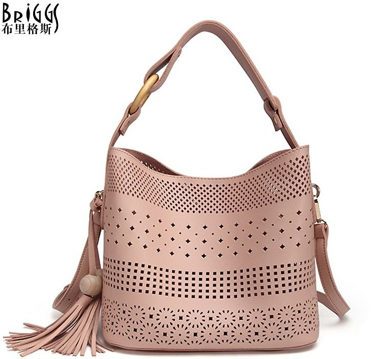 US $19.35 57% OFF|BRIGGS Hollow Out Women Shoulder Bag Female High Quality Composite Bag Ladies PU Leather Messenger Bag Women Famous Brand Bags|composite Bag|leather Messenger Bagbag Ladies - AliExpress
