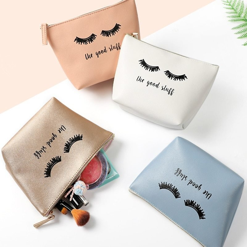 US $2.03 34% OFF|NEW Fashion 4 Colors Eyelash Shape PU Cosmetic Bag Travel Bag Washing Toiletry Beaut Kit Make Up Case Organizer Storage Pouch|Cosmetic Bags & Cases| - AliExpress