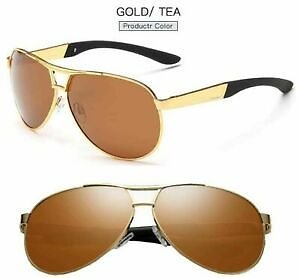 NEW Mens Polarized Sunglasses Pilot Outdoor Driving Glasses Eyewear Outdoor