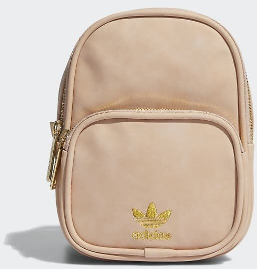 Adidas Faux Suede Mini Backpack - Pink | Adidas US
