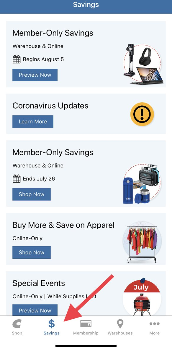 New Costco Savings Book (begins August 05, 2020) Available Now On Costco App!