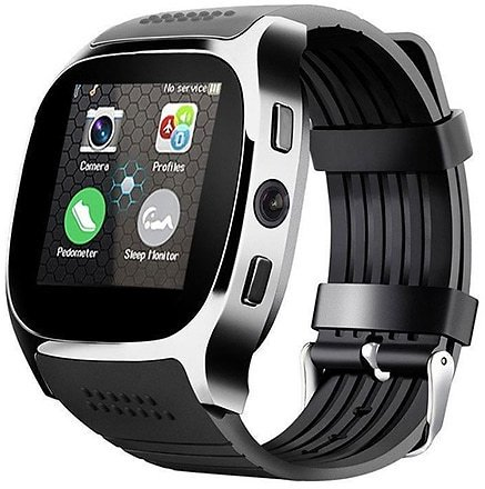 2020 Smart Watch Phone with T8 Camera Touch Screen Bluetooth Smart SIM Watch Camera TF Card for Android IPhone
