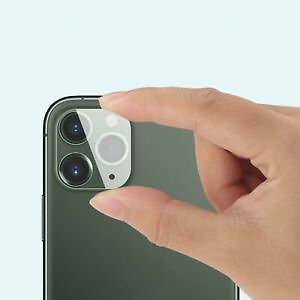 Fit For IPhone 11 / 11Pro Max Tempered Glass Camera Lens Screen Protector Cover