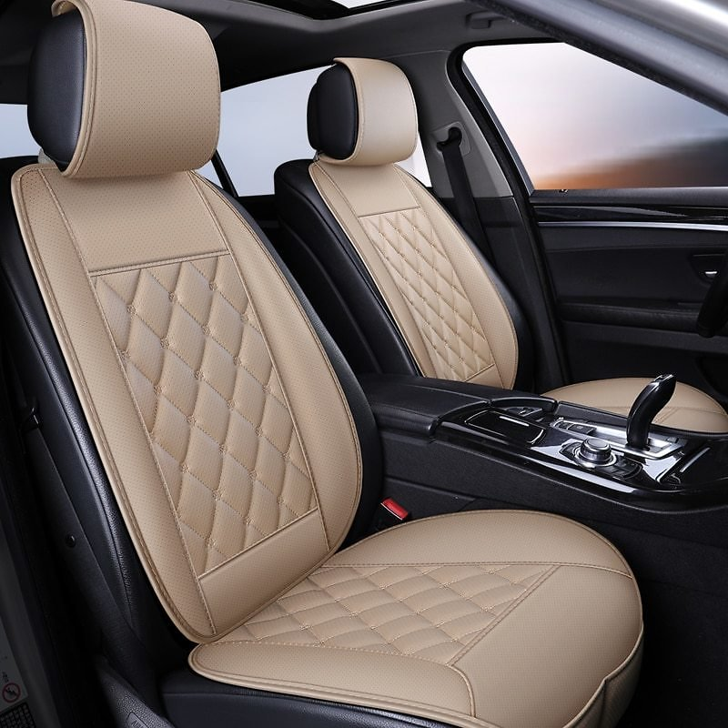 US $12.03 48% OFF|Waterproof Leather Car Seat Cover Protector Mat Universal Front Backret Breathable Car Van Auto Seat Cushion Protector Pad|Automobiles Seat Covers| - AliExpress