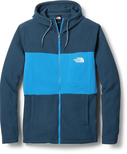 The North Face TKA 100 Colorblocked Full-Zip Hoodie - Men's | REI Co-op