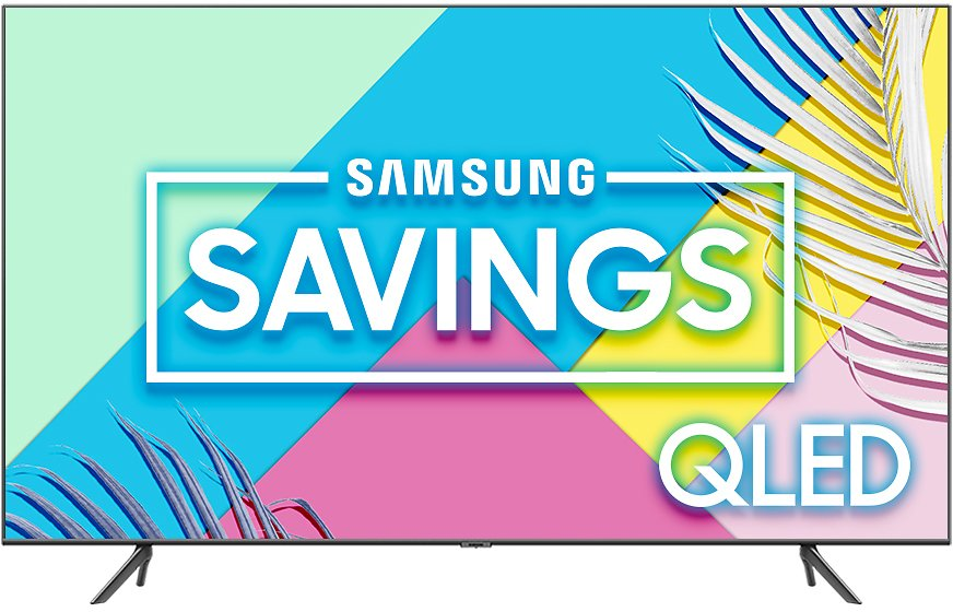 SAMSUNG 65-in Class 4K UHD HDR Smart QLED TV