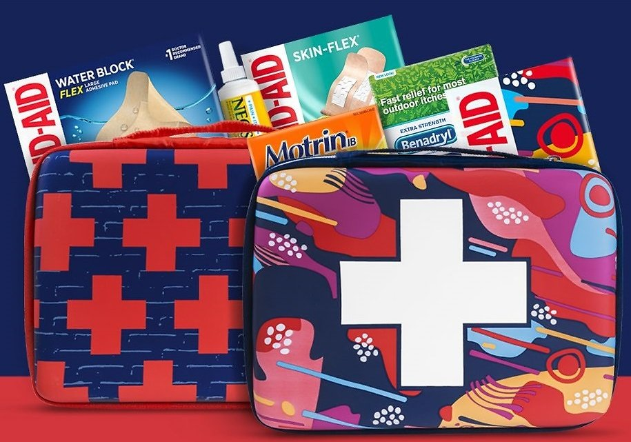 Get a Free Bag When You Buy 3 or More First Aid Items