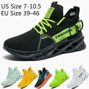 Mens Fashion Sports Athletic Sneakers Outdoor Casual Running Tennis Shoes Gym SZ