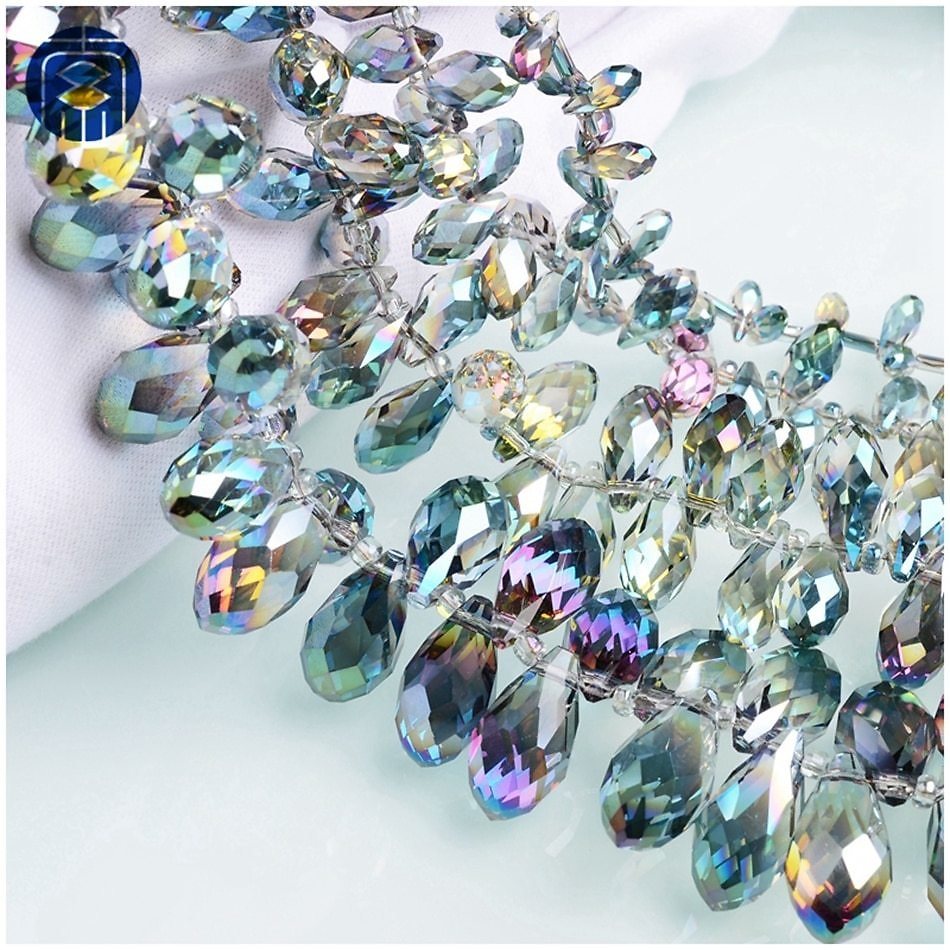 US $2.75 |JuleeCrystal Teardrop Beads Colorful All Size Available Crystal Glass Beads For Jewelry Making|Beads| - AliExpress