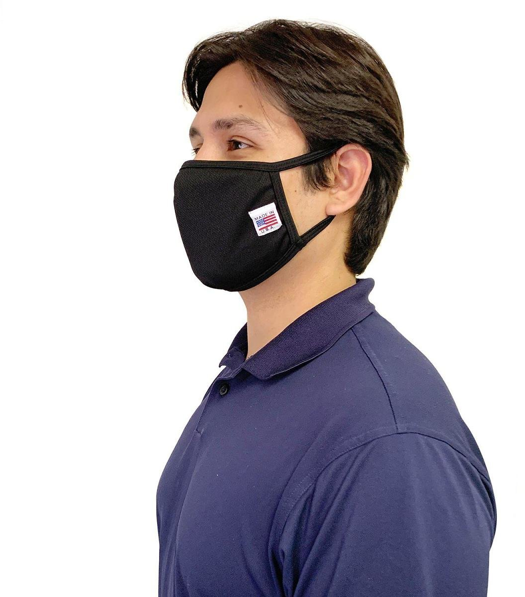 Casaba - Made in USA Face Masks Mouth Nose Washable Reusable Double Layer Cotton Cloth Blend