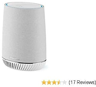 NETGEAR Orbi Voice Smart Speaker & WiFi Mesh Extender with Amazon Alexa Built-in (RBS40V), Works with Any WiFi Router