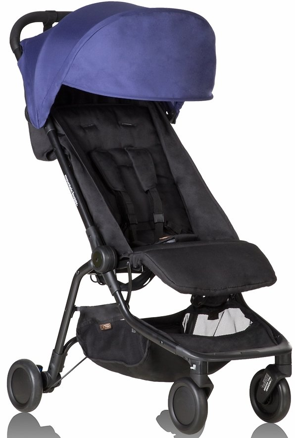 Mountain Buggy Nano V2 Stroller - Blue