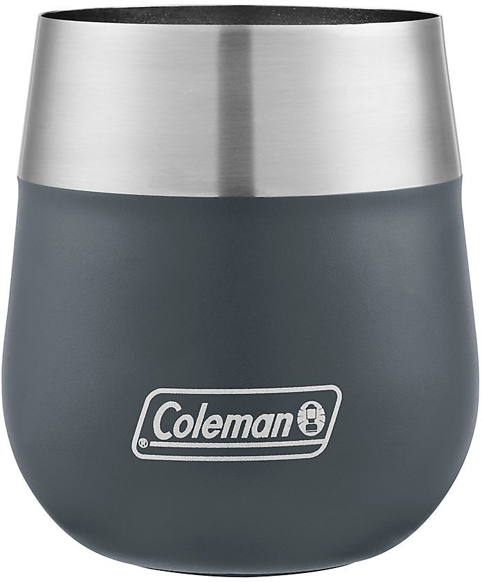 Coleman Claret Insulated Stainless Steel Wine Glass, 13oz (Mult. Colors)