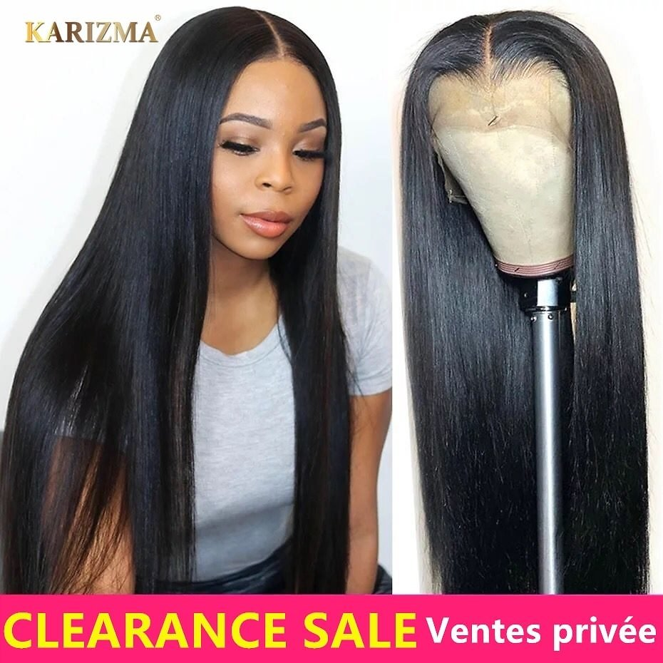 Lace Front Human Hair Wigs Straight Lace Frontal Wigs Remy Lace Front Wigs With Baby Hair Brazilian Straight Lace Front Wig