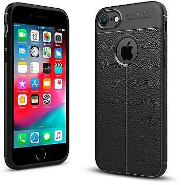 For Apple IPhone 7 Luxury Shockproof Leather Pattern Soft TPU Protective Case