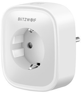 BlitzWolf® BW-SHP2 16A Smart WIFI Socket 220V EU Plug Work with Amazon Alexa Google Assistant Compatible with BlitzWolf Tuya APP Smart Home from Consumer Electronics on Banggood.com