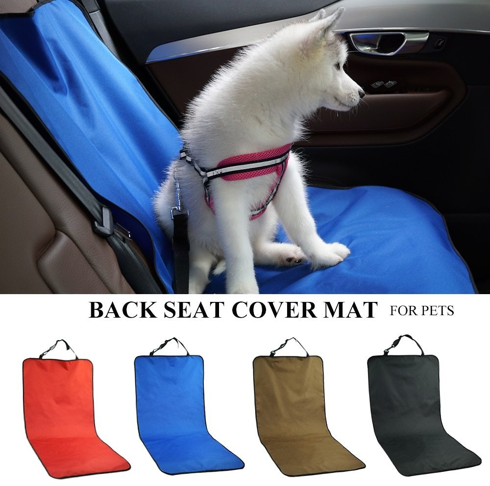 US $6.07 73% OFF|Car Waterproof Back Seat Pet Cover Protector Mat Rear Safety Travel Accessories for Cat Dog Pet Carrier Car Rear Back Seat Mat|Dog Carriers| - AliExpress