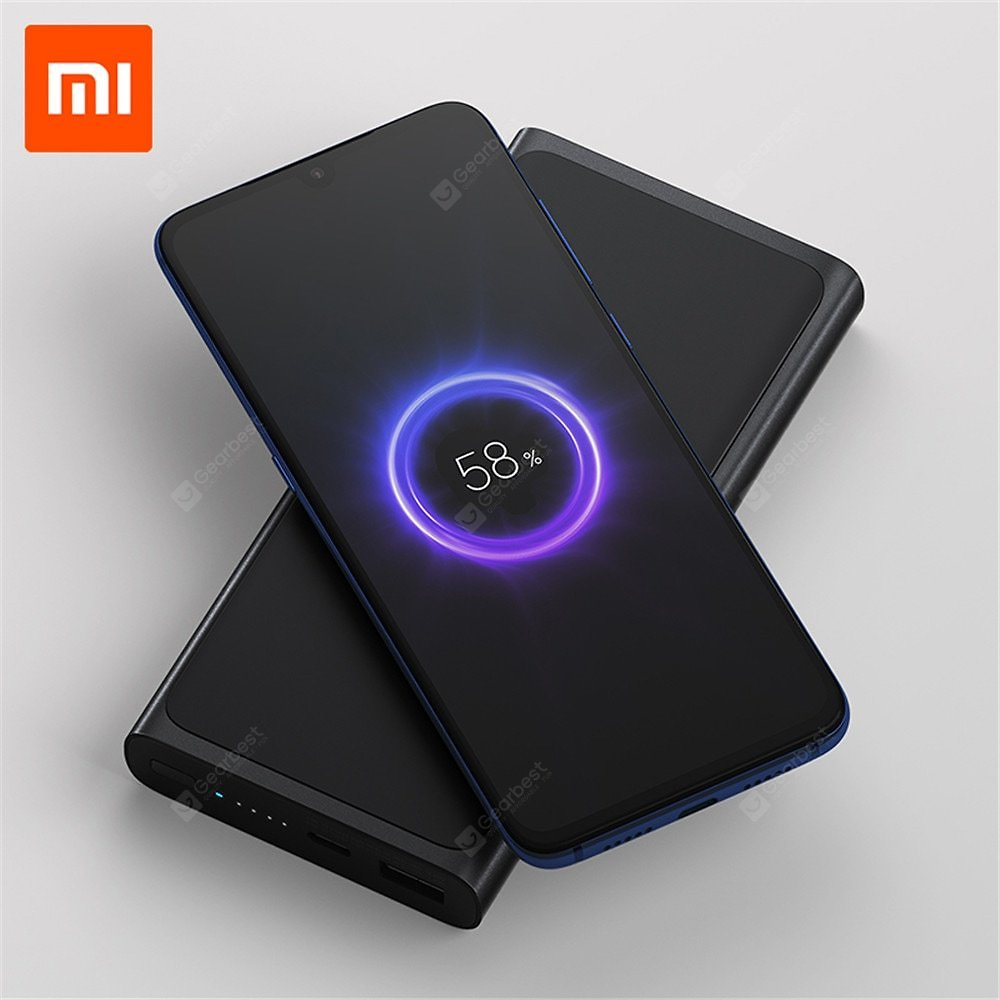Xiaomi Wireless Power Bank 10000mAh Portable Type C Fast Charging for Huawei Samsung IPhone Sale, Price & Reviews   Gearbest