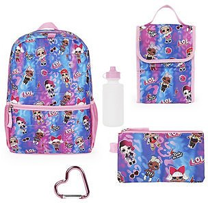 Love 2 Design Lol Backpack 5 Piece Set , Today Only!