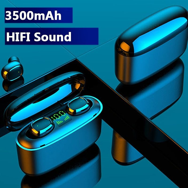 US $14.39 82% OFF|Hembeer TWS Wireless Bluetooth Earphones Touch Headphones HD Stereo Hifi Sound Noise Cancelling Headsets for All Phone|Bluetooth Earphones & Headphones| - AliExpress