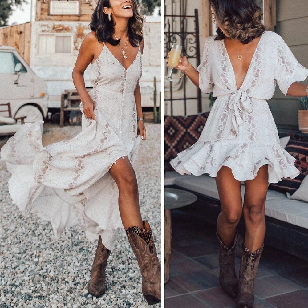 US $12.97 58% OFF|Summer Dress Women Vestidos Casual Tie Dye Clothing Robe Femme Chic Beach Dresses Chiffon Autumn Maxi Dress 2020 Woman Dress|Dresses| - AliExpress