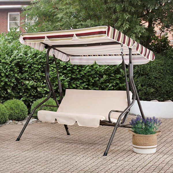 Sunjoy Porch Swing with Stand